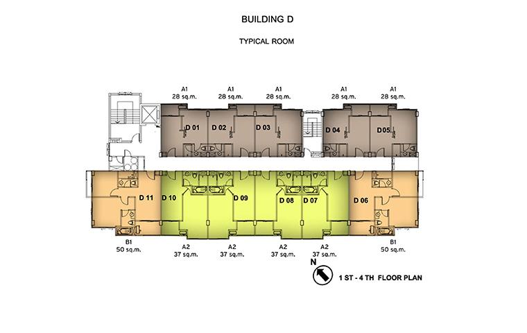 อาคาร-D