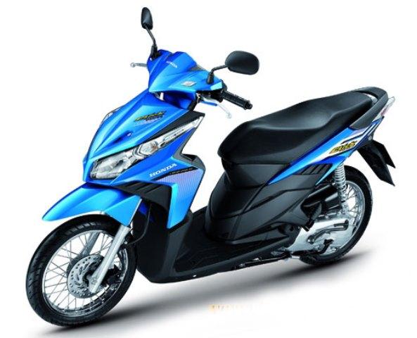 Аренда скутера байка Honda Click 125cc на Самуи