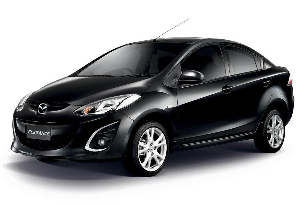 Аренда автомобиля Мазды Элеганс( Mazda Elegance) на Самуи