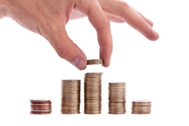 hand drop money