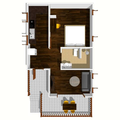1-bed-delux