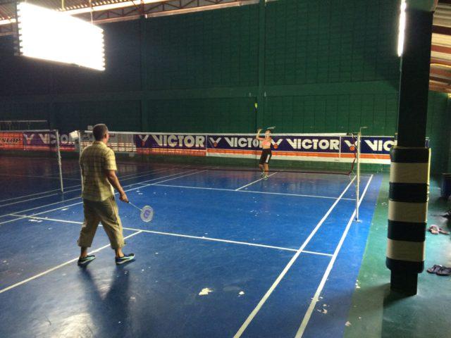 pinjutha-badminton-court